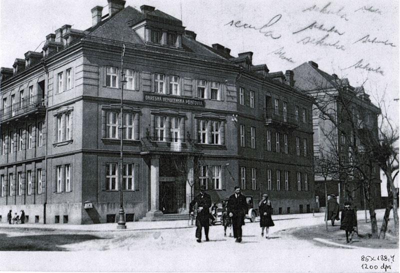 Budova v roku 1925