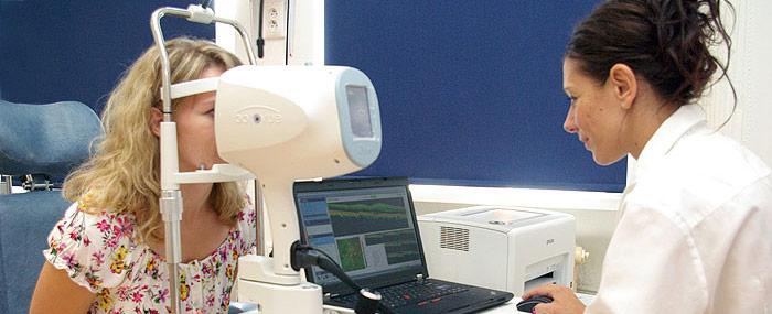 Oprická koherentný tomografia