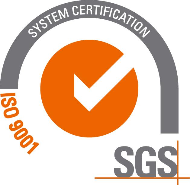 Certifikát SGS ISO 9001