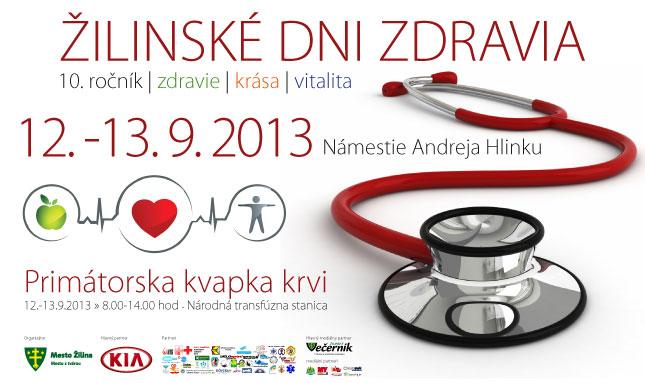 Žilinské dni zdravia 2013